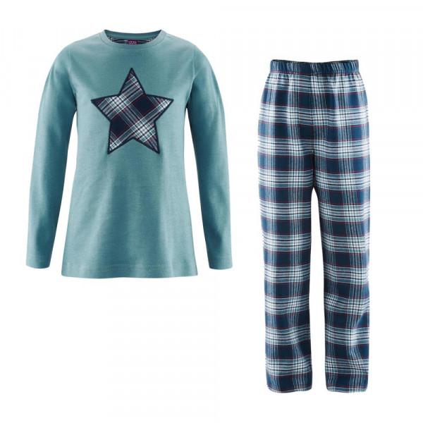 fd29fcc170 Living Crafts Kinder Schlafanzug Bio-Baumwolle   Nachtwäsche ...