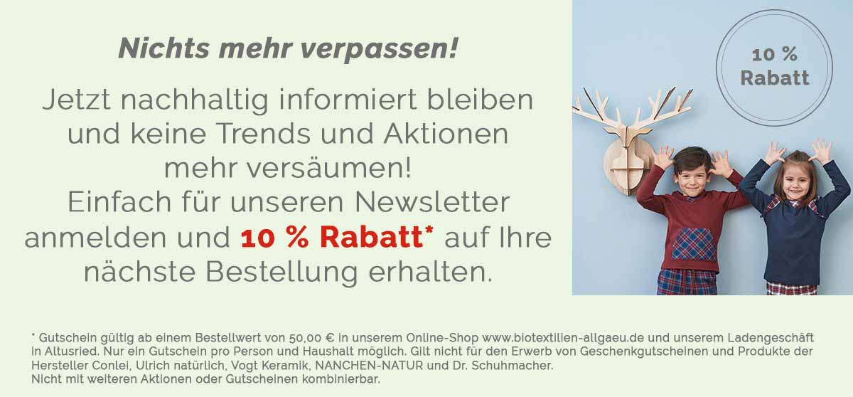 10% Rabatt für Sie!