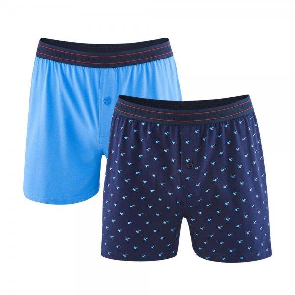 Living Crafts Herren Boxer-Shorts Ethan 2er-Pack Bio-Baumwolle. Vorschau   20210LS Vorschau  20210LS Vorschau  20210LS. 20210LS 295068c0db