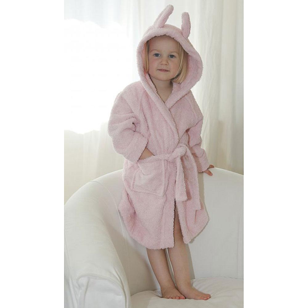 leela cotton baby kinder bademantel bio baumwolle bademode babys bis gr 92 babys. Black Bedroom Furniture Sets. Home Design Ideas