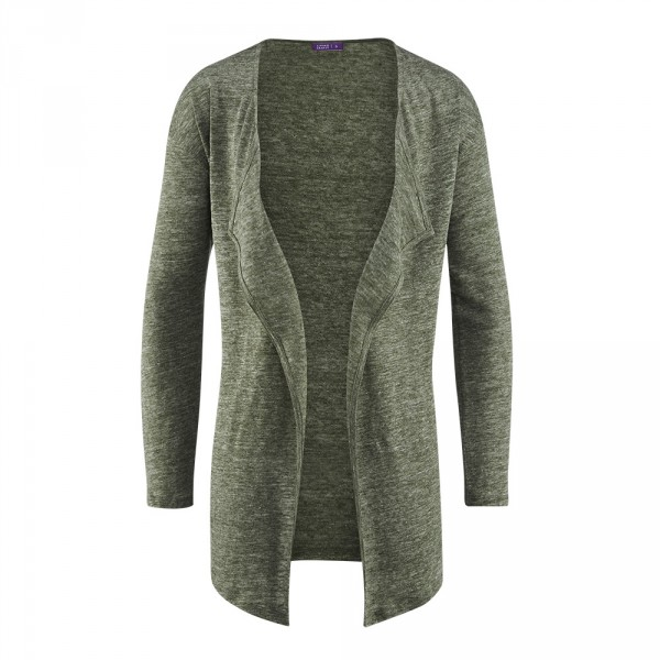 d7d7a14690 Living Crafts Damen Cardigan Bio-Leinen | Strickjacken | Pullover ...