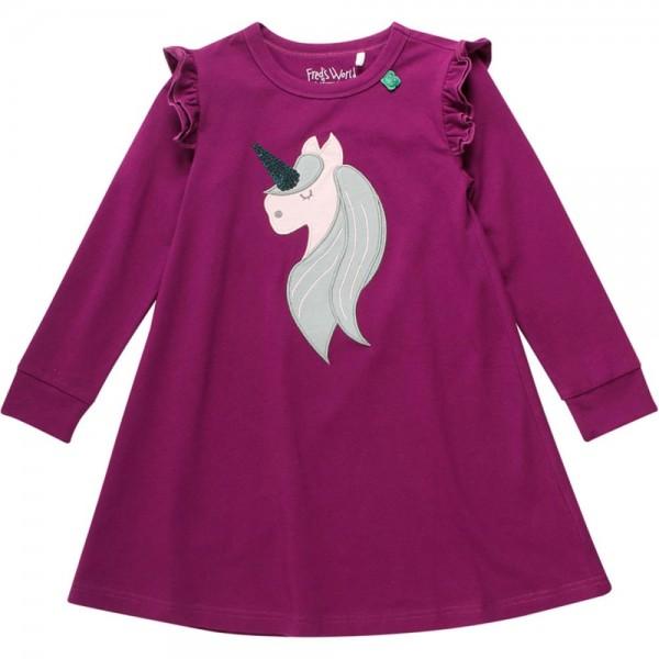 63c37da70b Fred's World Langarm Kleid für Mädchen Einhorn Unicorn aus Bio ...